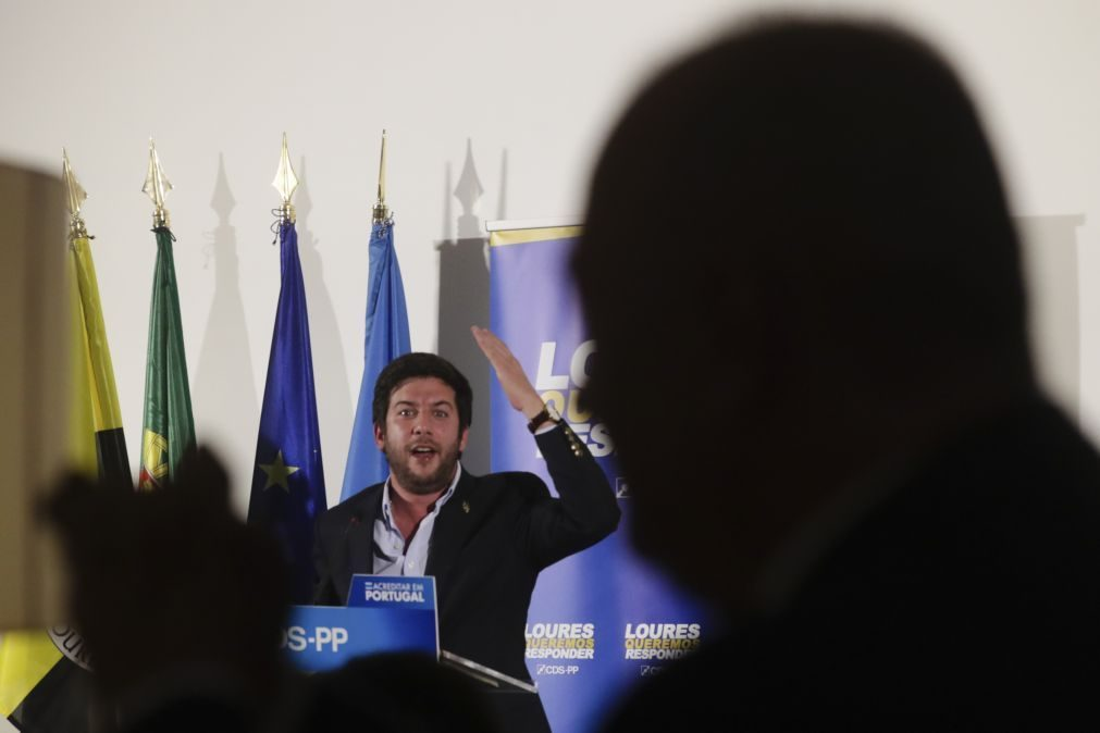 Chega/Congresso: Líder do CDS-PP diz que partido será representado por dirigentes locais