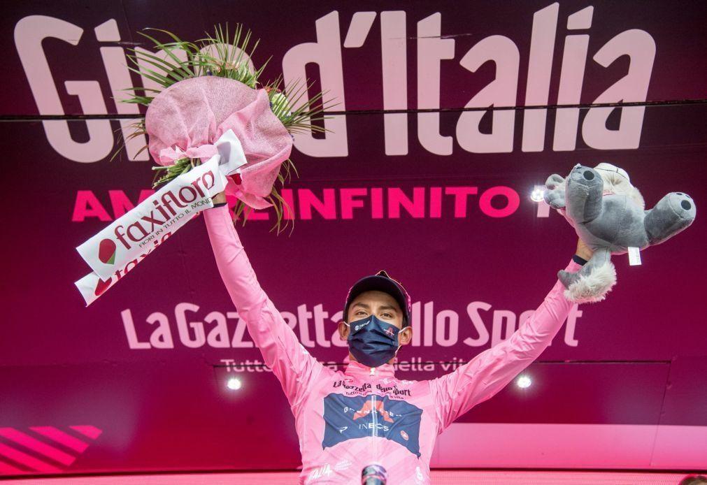 Giro: Egan Bernal vence 104.ª edição, João Almeida sobe ao sexto lugar final