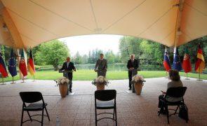 UE/Presidência: Eslovénia, Alemanha e Portugal pedem Europa