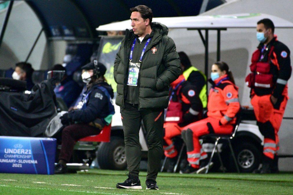 Euro sub-21: Rui Jorge quer Portugal seguro com bola face ao 'cinismo' italiano