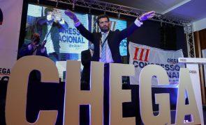 Chega/Congresso: Ventura acusa PSD de dar sinal de não querer o Chega num futuro Governo