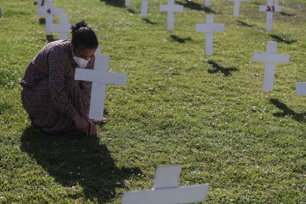 Covid-19: Brasil regista 874 mortes nas últimas 24 horas