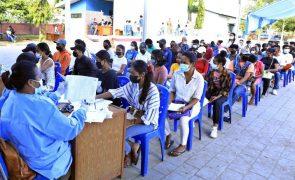 Covid-19: Casos ativos em Timor-Leste voltam a baixar com mais recuperações
