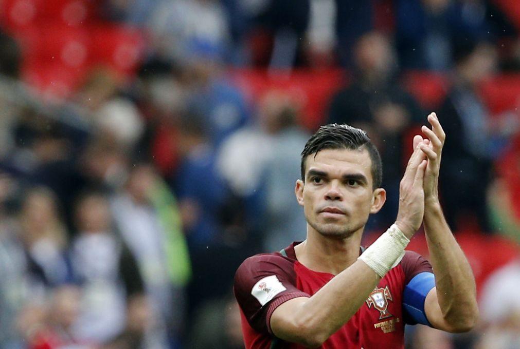 Besiktas oficializa a contratação do internacional português Pepe