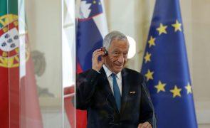 Euro sub-21: Presidente da República assistirá ao jogo com Itália em Ljubljana