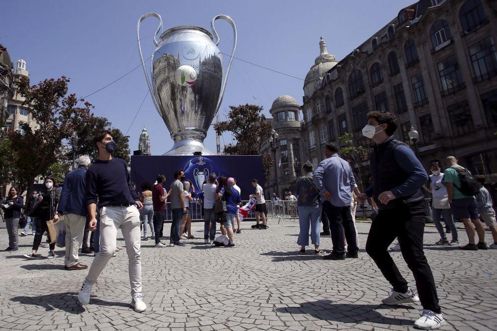 Vitória considera inaceitável eventos sem público após final da Liga dos Campeões