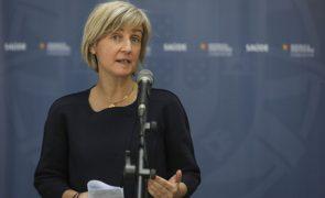 Covid-19: Ministra diz que consultas e cirurgias já estão próximas de níveis de 2019