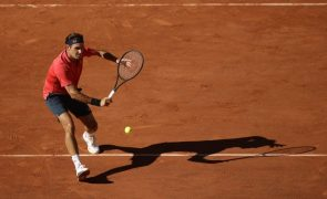 Roland Garros: Roger Federer apura-se para a segunda ronda