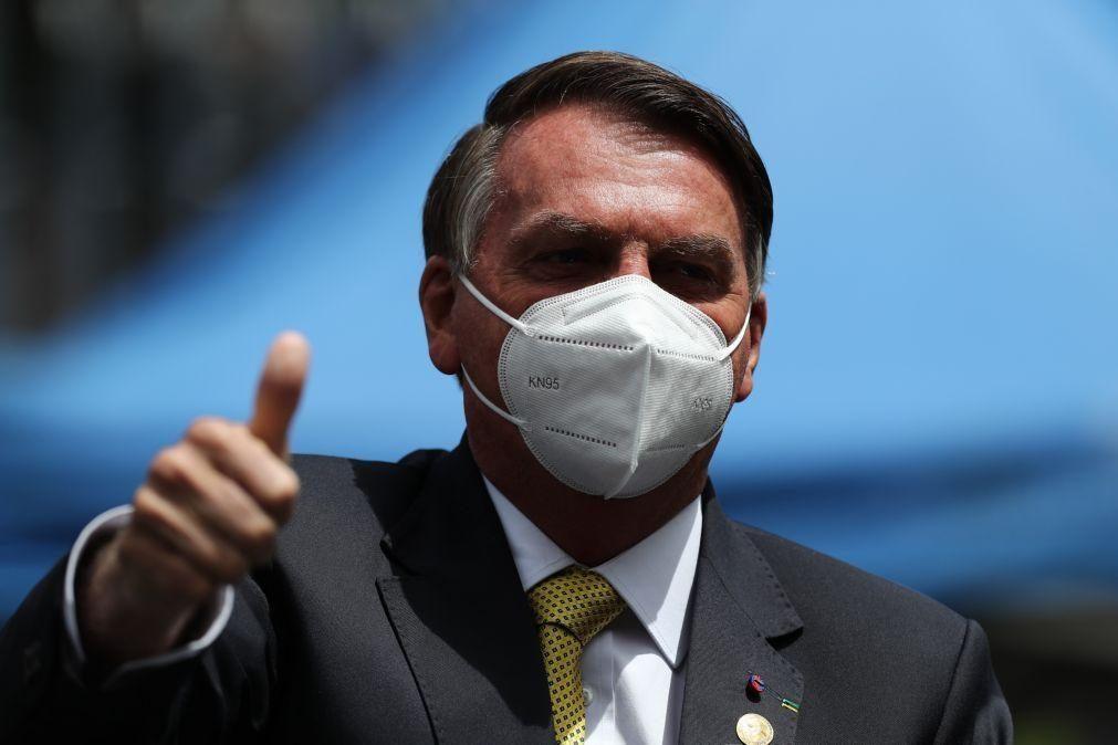 Presidente do Brasil diz que faltou marijuana em protestos contra seu Governo