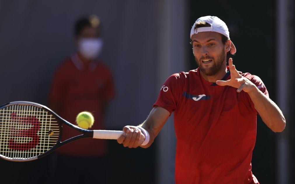 Roland Garros: João Sousa cai na primeira ronda frente a Taylor Fritz