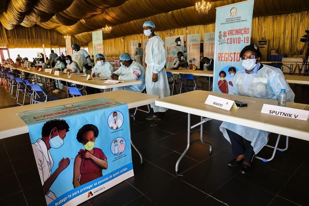 Covid-19: Mais 185 casos e duas mortes em Angola com mais de um milhão de vacinados