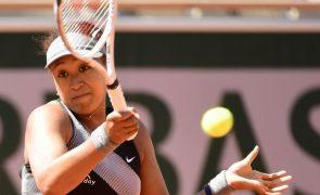 Roland Garros: Osaka desiste na sequência do polémico boicote à imprensa