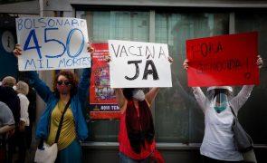 Covid-19: Brasil com mais 860 mortos e 30.434 novos casos em 24 horas