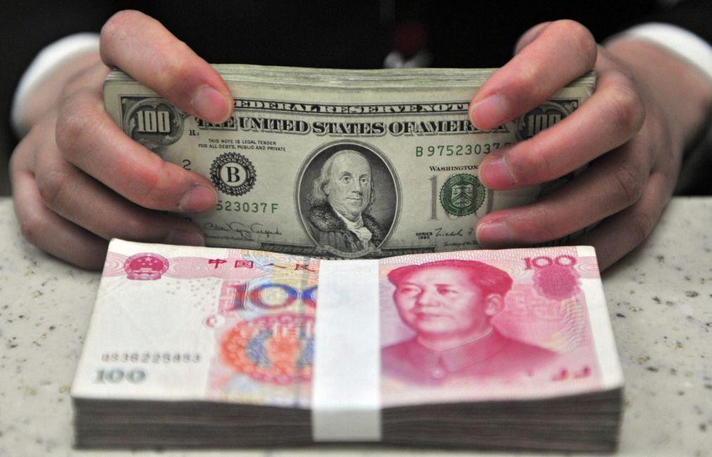Banco central da China tenta impedir valorização da moeda