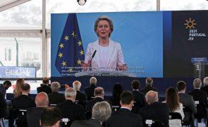 UE/Presidência: Cabo submarino simboliza