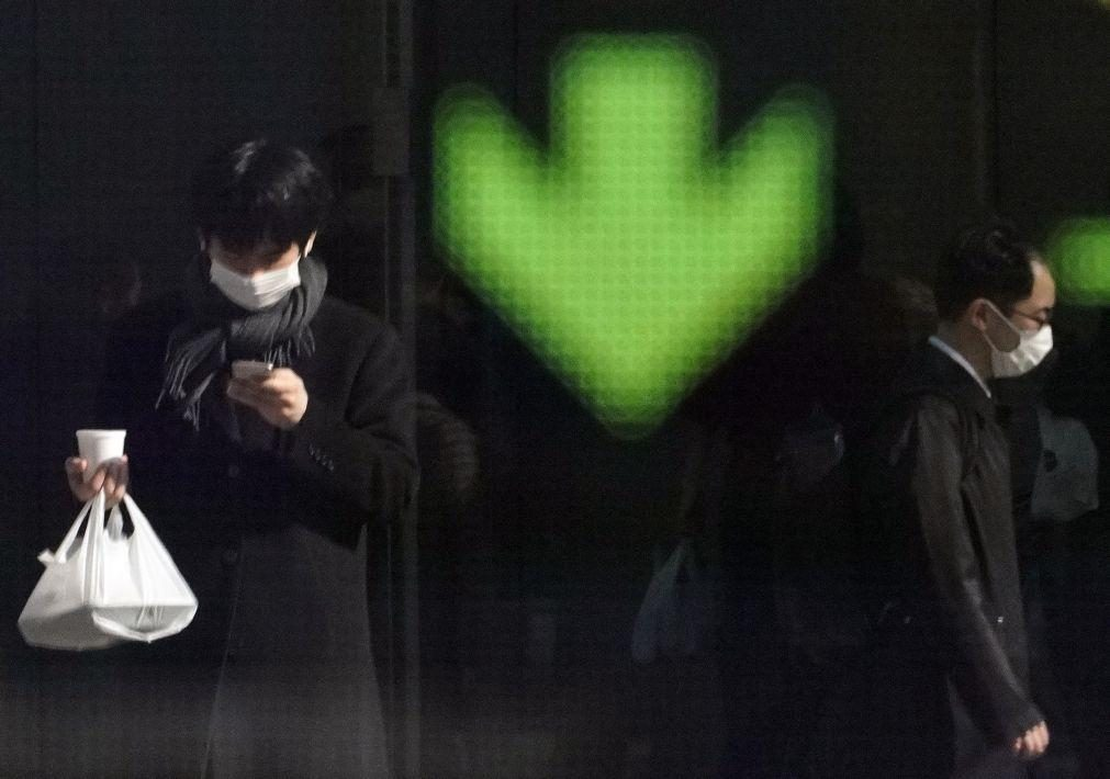 Bolsa de Tóquio abre a perder 0,56%