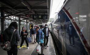 Doze comboios da Fertagus circularam até às 09:00 devido à greve dos trabalhadores da IP