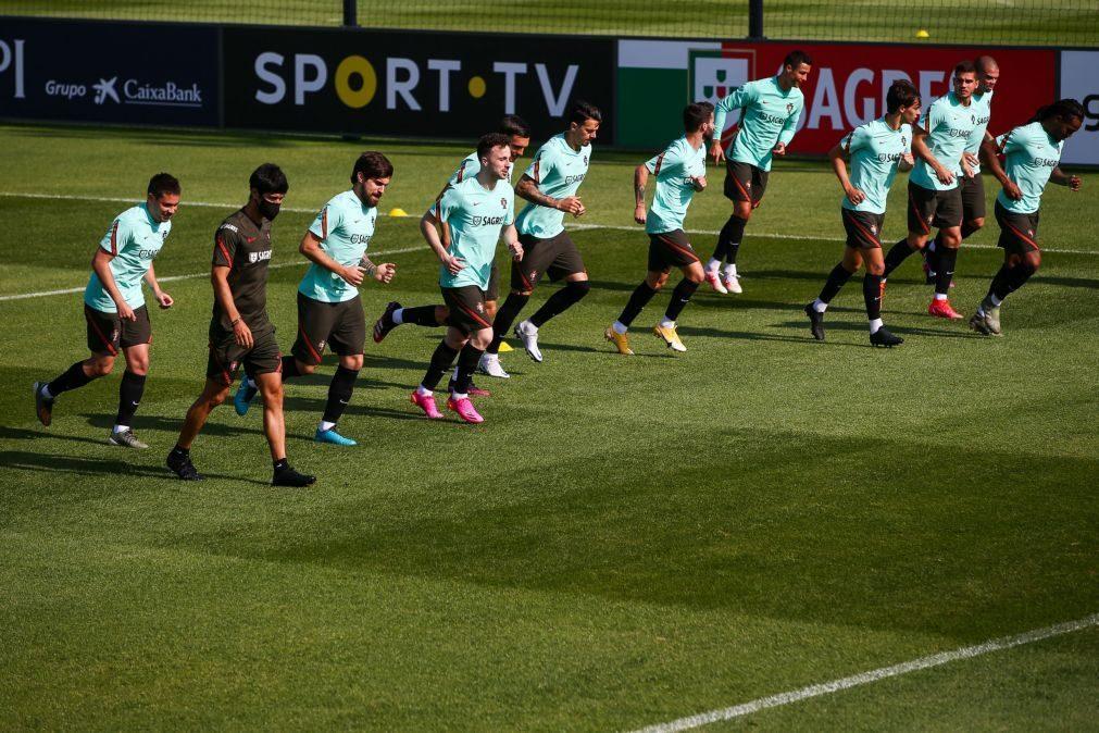 Euro2020: Portugal é a segunda seleção com mais minutos nas 'pernas'