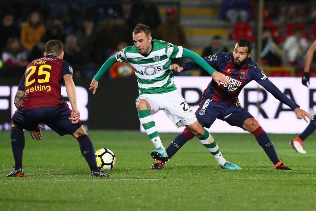 Dínamo Zagreb contrata Josip Misic ao Sporting por dois milhões de euros