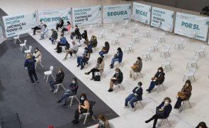 Covid-19: Um em cada cinco portugueses com vacinação completa