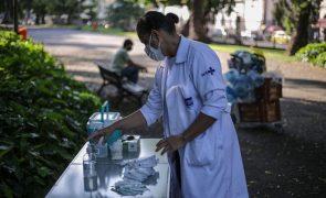 Covid-19: Brasil tem 95.601 novos casos e ultrapassa 16,7 milhões de infeções