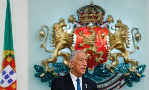 Marcelo termina hoje visita oficial à Bulgária com discurso sobre futuro da Europa