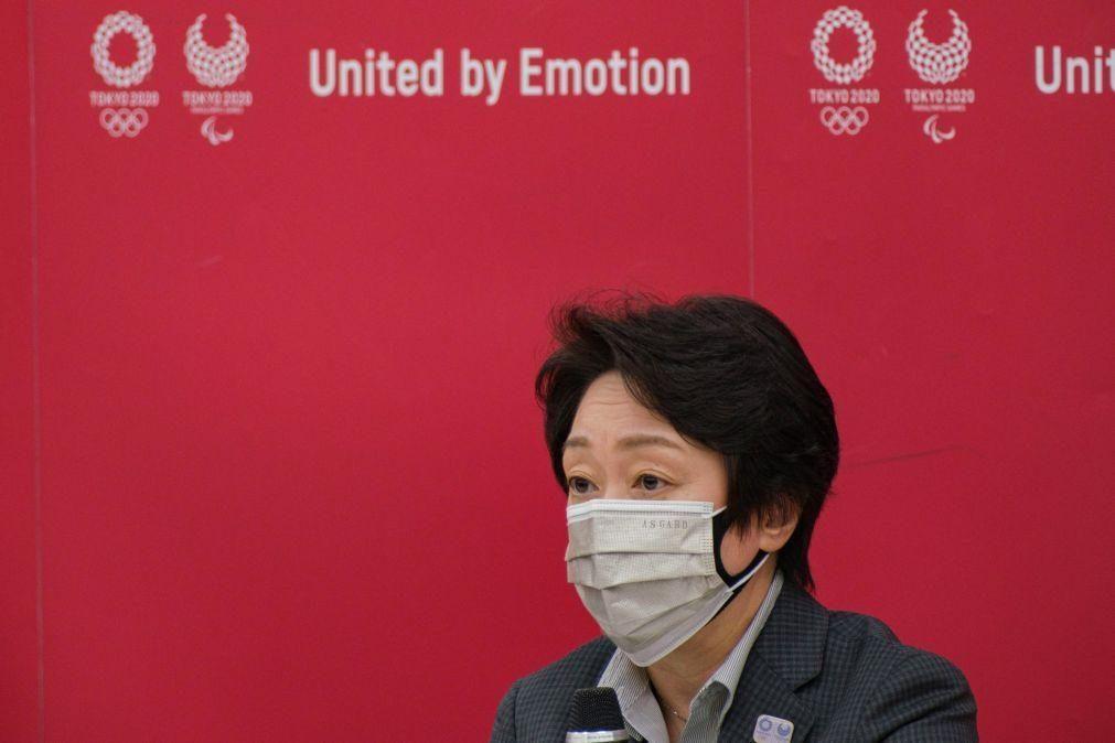 Tóquio2020: Presidente do comité organizador confiante a 100% na realização do evento