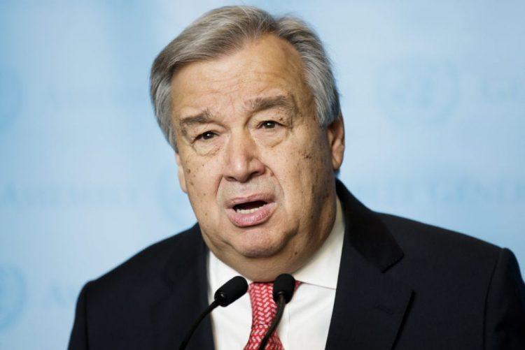 Óbito/Soares: Guterres recorda líder