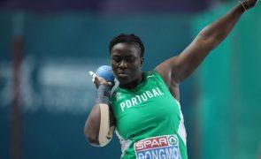 Auriol Dobgmo bate recorde nacional do lançamento do peso feminino