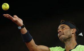 Nadal vence Gasquet em três 'sets' e apura-se para terceira ronda de Roland Garros