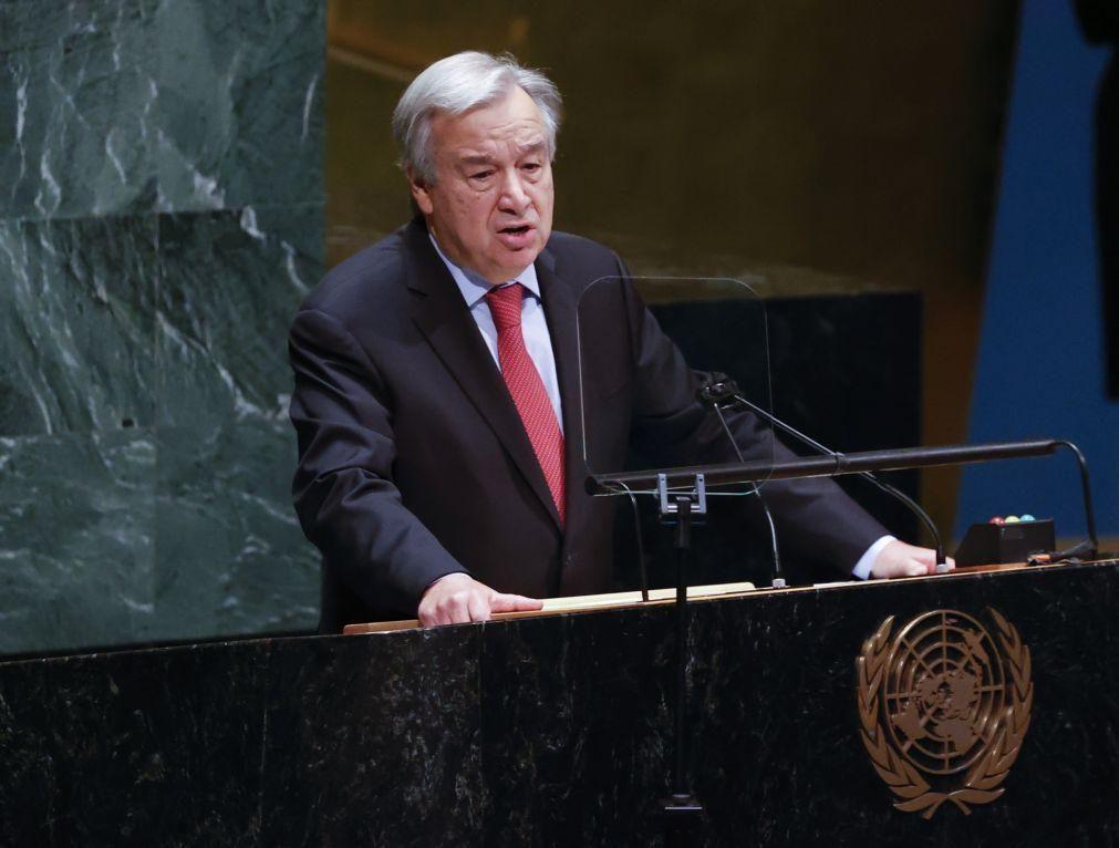 UE/Presidência: Guterres convidado a participar no próximo Conselho Europeu