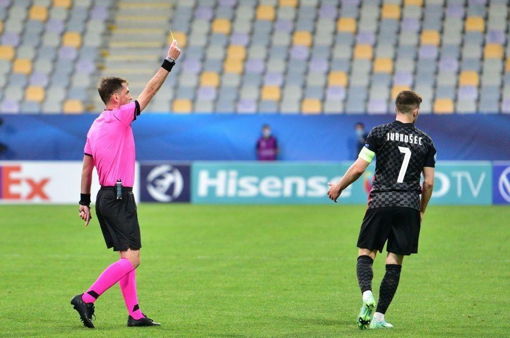Euro sub-21: Georgiano Giorgi Kruashvili arbitra final entre Portugal e Alemanha