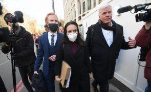 Advogada de Assange pede pressão sobre Biden para fim do processo de extradição