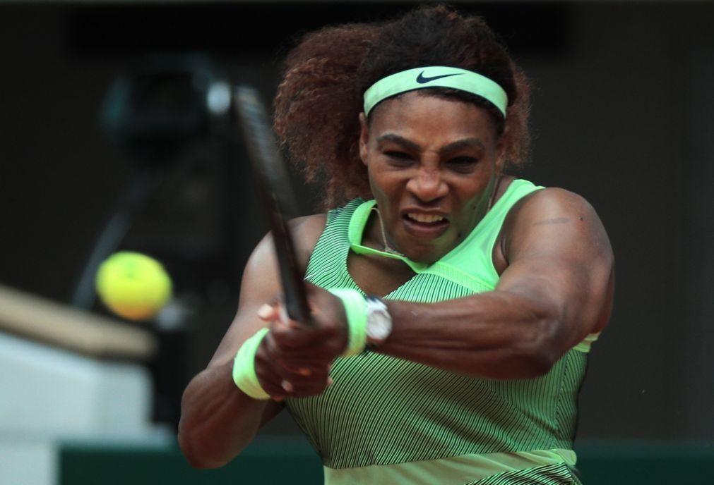 Roland Garros: Serena Williams apura-se para os oitavos de final