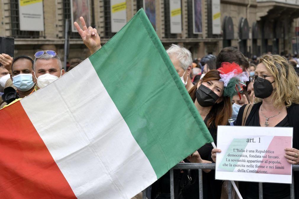 Covid-19: Itália soma 2.557 novos casos e 73 óbitos nas últimas 24 horas