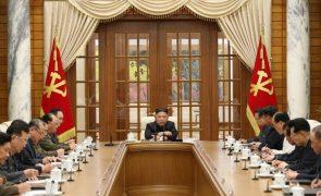 Partido no poder na Coreia do Norte anuncia reunião plenária para