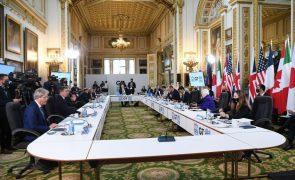 Ministros das Finanças do G7 chegam a acordo para aplicar IRC mínimo de 15%