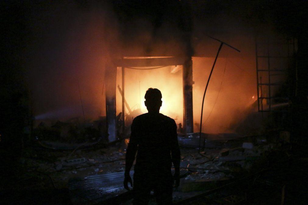 Ataques do grupo terrorista Estado Islâmico matam 23 combatentes leais a Damasco