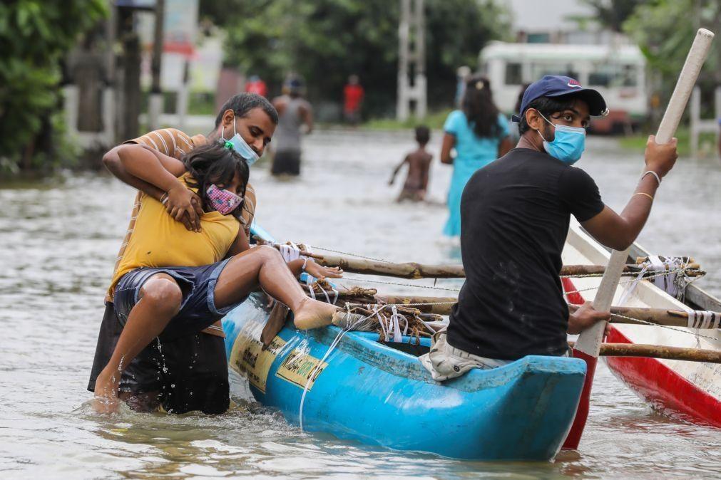 Chuva das monções provoca 5 mortos e 5 desaparecidos no Sri Lanka