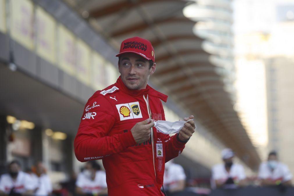Leclerc conquista no Azerbaijão a segunda 'pole' consecutiva no Mundial de F1