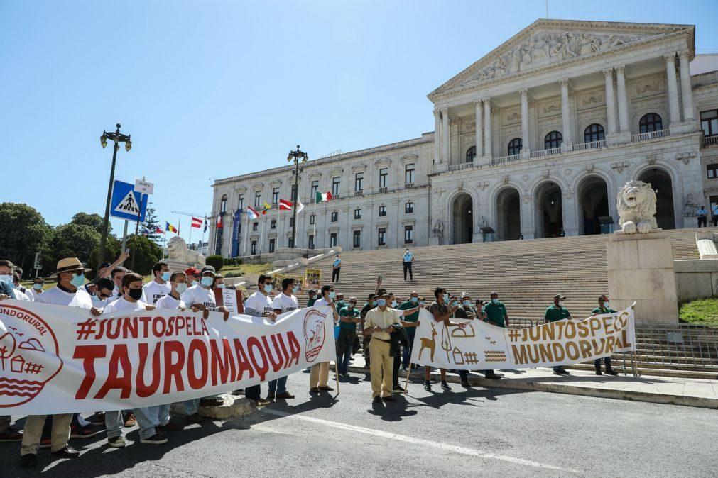 Centenas de manifestantes concentram-se em Lisboa