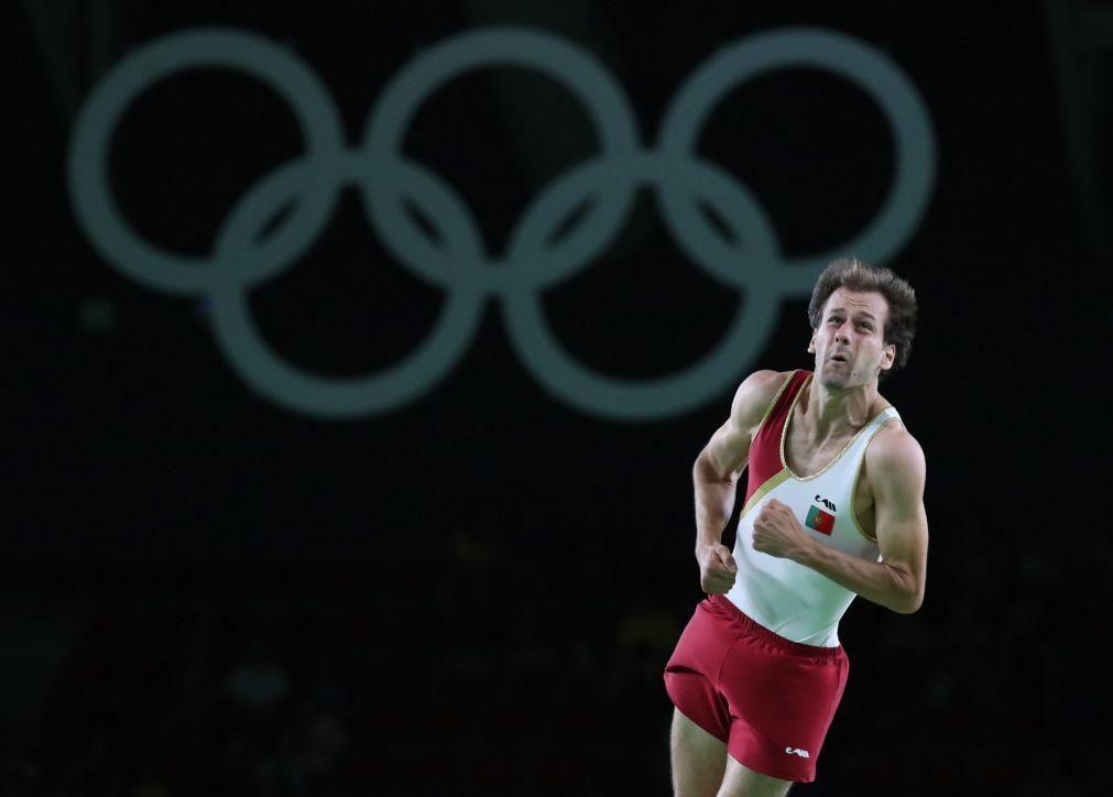 Tóquio2020: Diogo Abreu 'bate' Pedro Ferreira por vaga na ginástica de trampolins