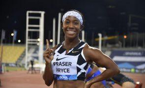 Fraser-Pryce torna-se a segunda atleta mais rápida de sempre nos 100 metros