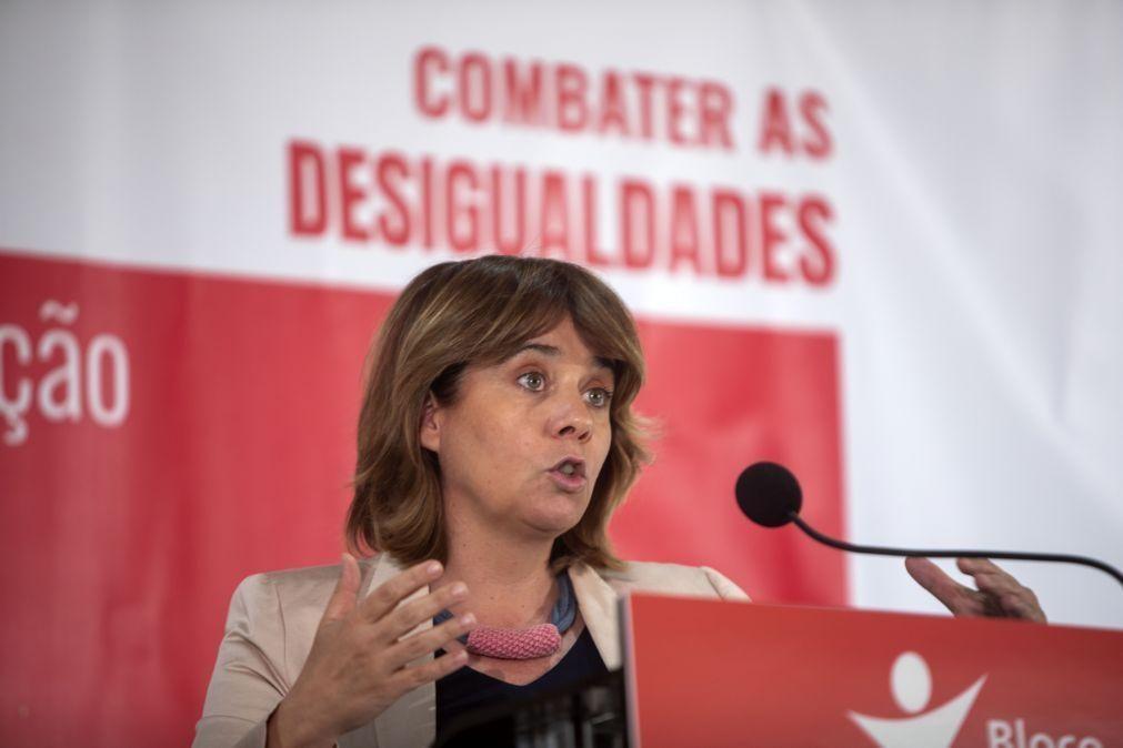 Catarina Martins responsabiliza PS por injeção desnecessária de fundos no Novo Banco