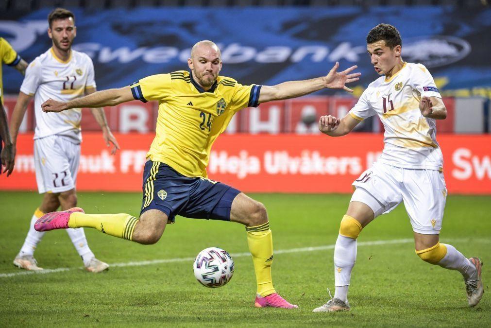 Euro2020: Suécia e Rússia vencem particulares, País de Gales e Albânia empatam