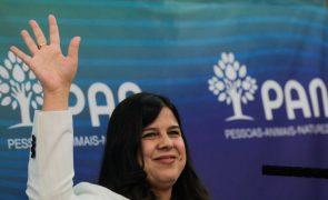 PAN/Congresso: Inês Sousa Real acredita na união do partido e recusa 'lei da rolha'