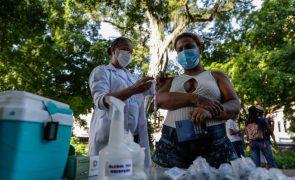 Covid-19: Brasil regista mais 66.017 infeções e aproxima-se dos 17 milhões de casos