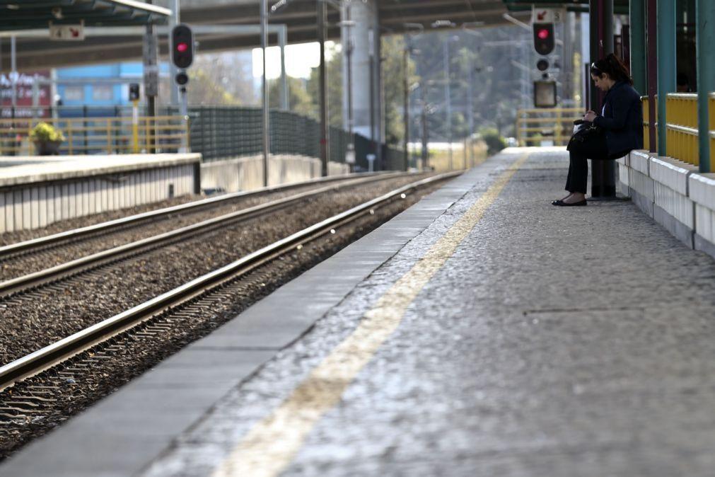 Greve leva à supressão de 46% dos comboios previstos até às 08:00