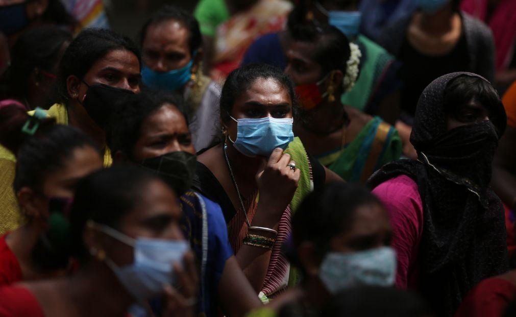 Covid-19: Índia regista o menor número de casos positivos em dois meses