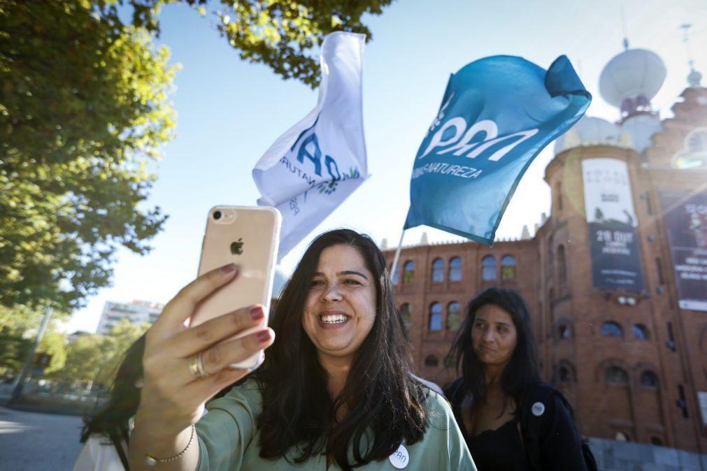 PAN/Congresso: Inês Sousa Real eleita porta-voz do partido